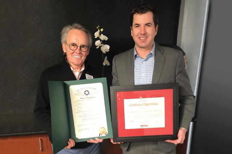 CCMH Recognized for Continued Support of Chamber's Mission