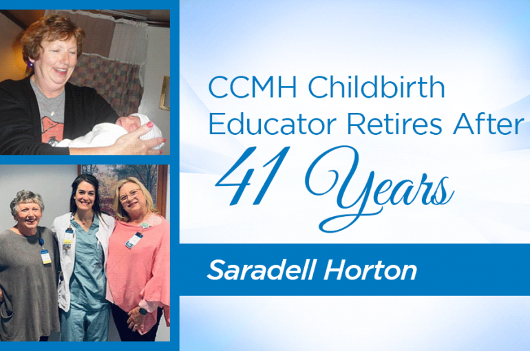 CCMH Childbirth Educator Retires After 41 Years