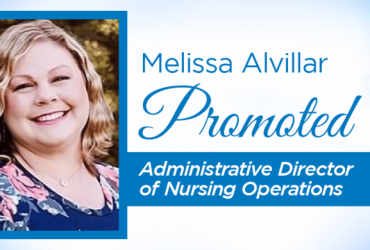 Melissa Alvillar Promoted