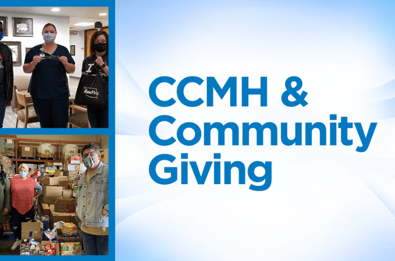 Giving to the Community & Community Support