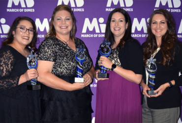 CCMH Nurses Named March of Dimes Nurse of the Year for 2020!