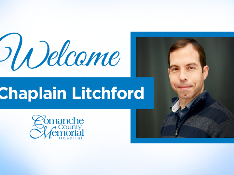 Welcome Chaplain Litchford