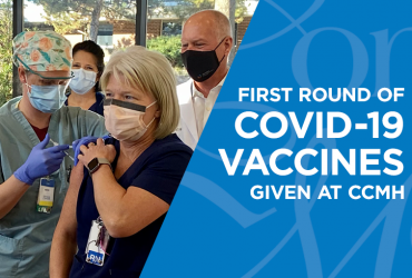 FIRST ROUND OF COVID-19 VACCINES GIVEN AT COMANCHE COUNTY MEMORIAL HOSPITAL