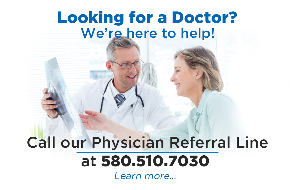 Physician Referral Line
