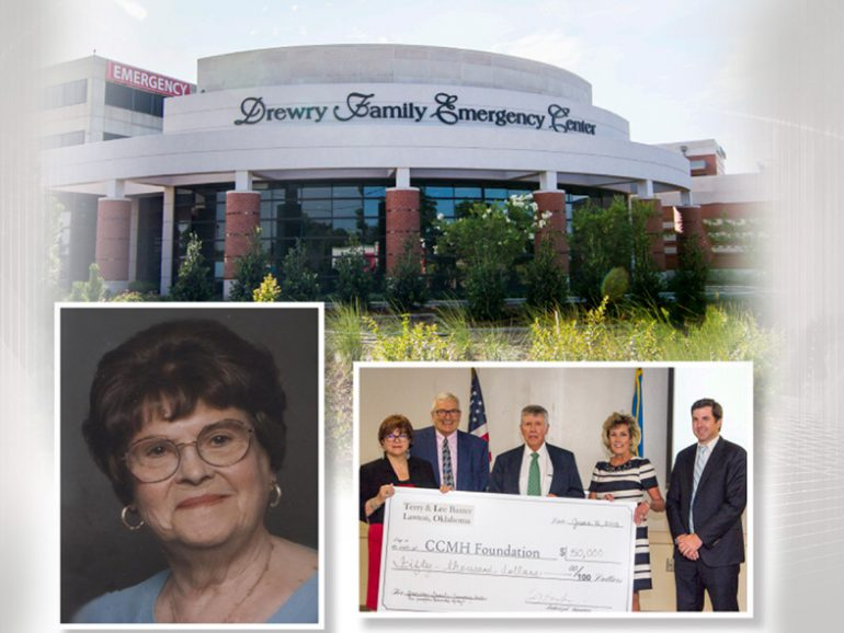 Comanche County Memorial Hospital Foundation announces major donation to new regional emergency center