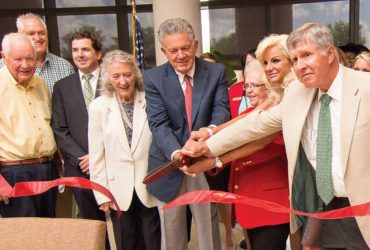 Phase I completion of Drewry Family Emergency Center celebrated with ribbon cutting, open house