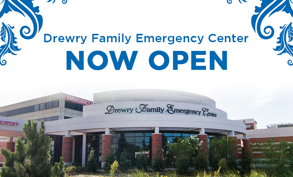Drewry Family Emergency Center Now Open