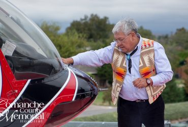 Blessing Ceremony Performed on Survival Flight & Crew