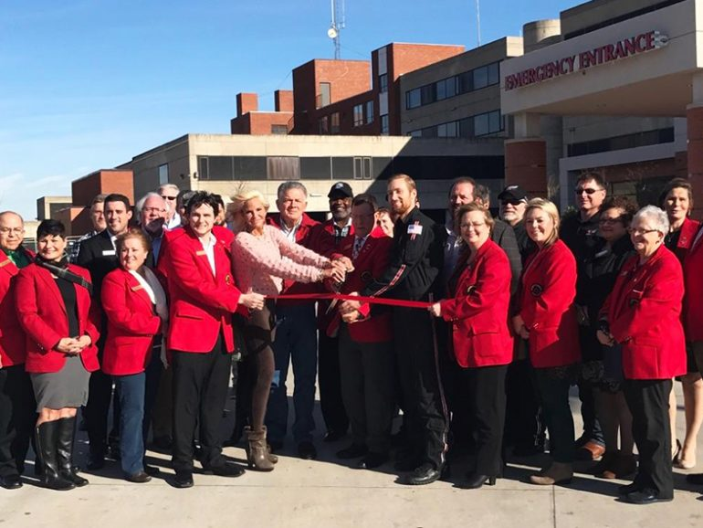 Ribbon Cutting for Survival Flight