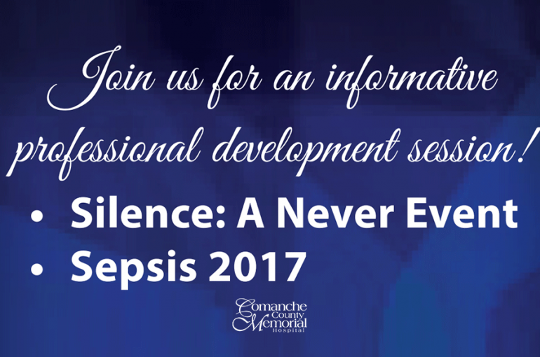 Silence: A Never Event / Sepsis 2017
