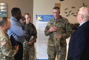 Brigadier General Visits CCMH