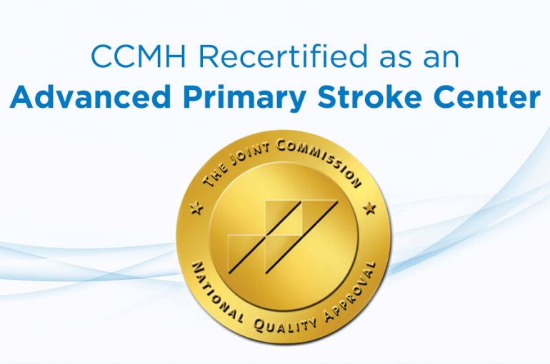 CCMH Recertified as an Advanced Primary Stroke Center