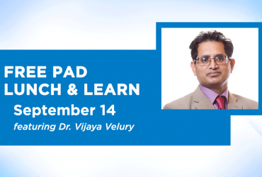 Free Peripheral Artery Disease (PAD) Lunch & Learn