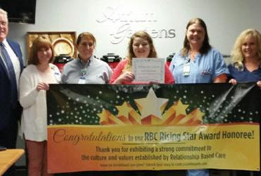 Sara Grover Receives Rising Star Award for October
