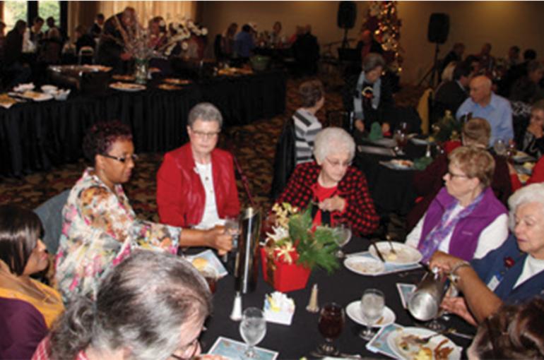 CCMH Administration Celebrates Volunteers
