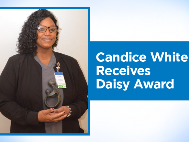 Candice White, LPN – CARE Coordinator, Receives Daisy Award
