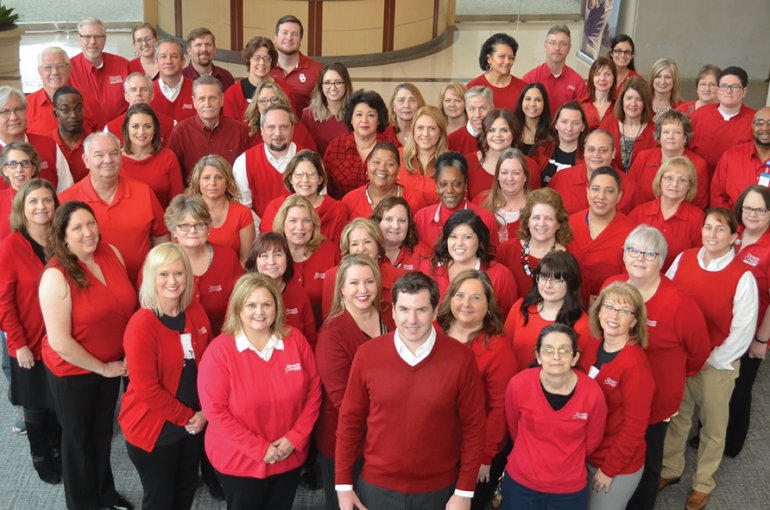 CCMH Goes Red for Heart Health Awareness