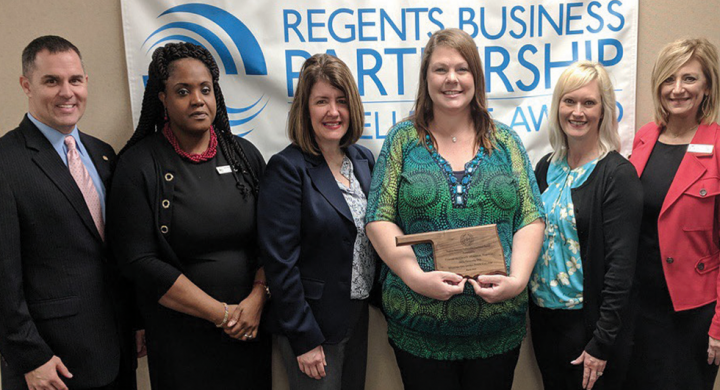 CCMH Receives Regents Business Partnership Excellence Award