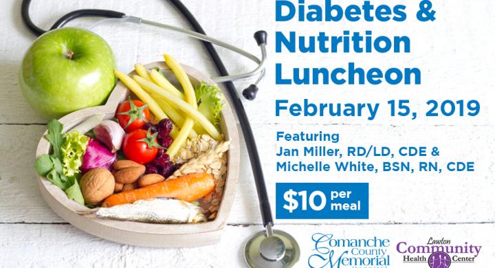 Diabetes & Nutrition Luncheon