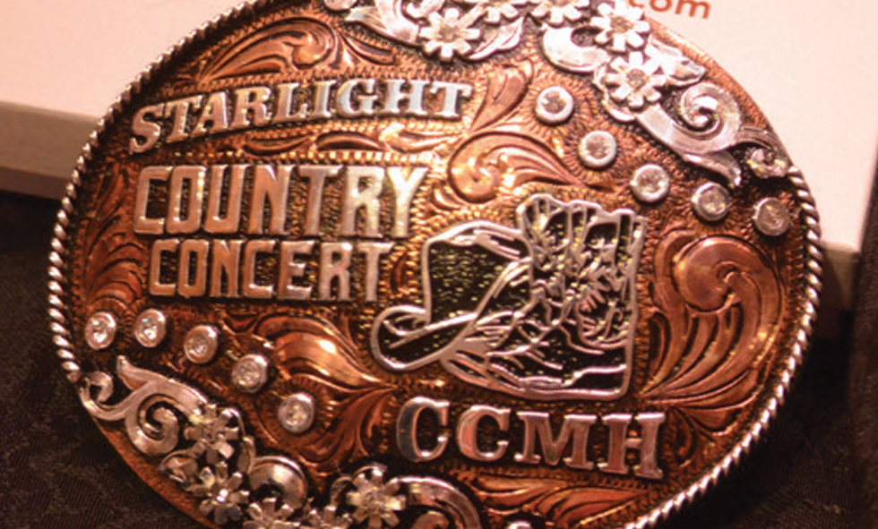 CCMH Starlight Belt Buckle