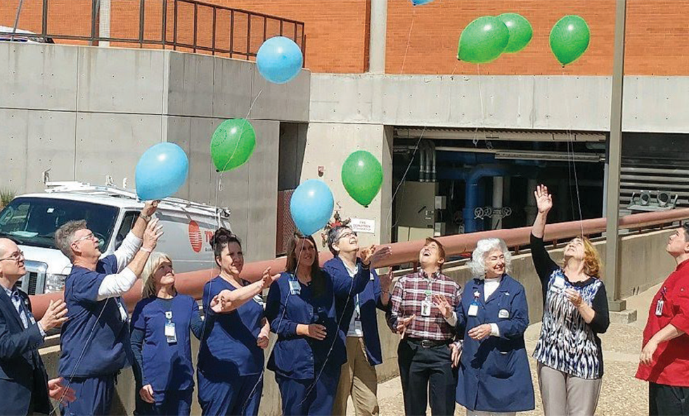 National Donate Life Month Balloon Release at CCMH