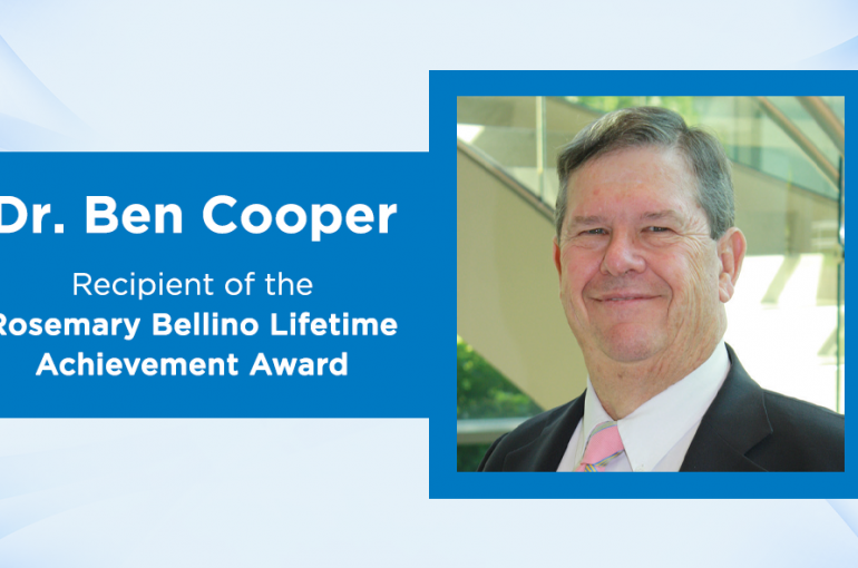 LETA Honors Dr. Cooper as Community Participant
