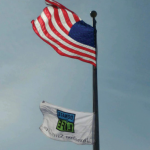 National Donate Life Month Flag at CCMH