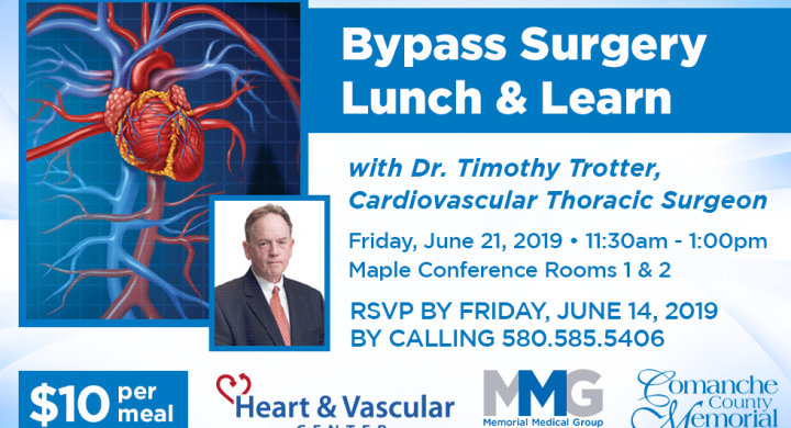 Bypass Surgery Lunch & Learn - June 21, 2019