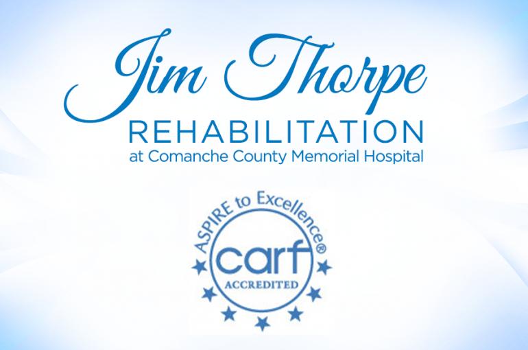Congratulations Jim Thorpe Rehabilitation!