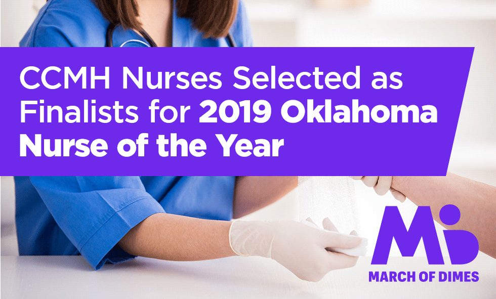 CCMH Nurses Selected as Finalists for 2019 Oklahoma Nurse of the Year
