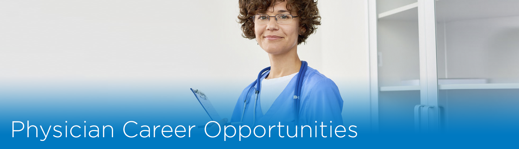 physician career banner