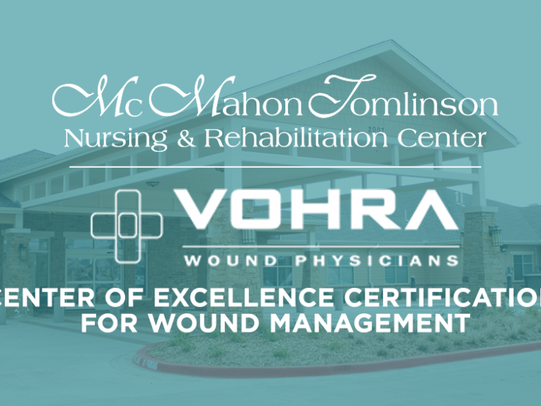 "MTNRC Awarded Vohra ""Center of Excellence"" Certification for Wound Management"