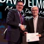 David Elmore receives award