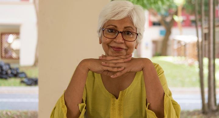 woman smiling bladder health