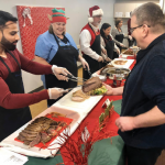 CCMH Annual Holiday Meal Attendees