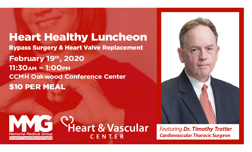 Healthy heart luncheon information