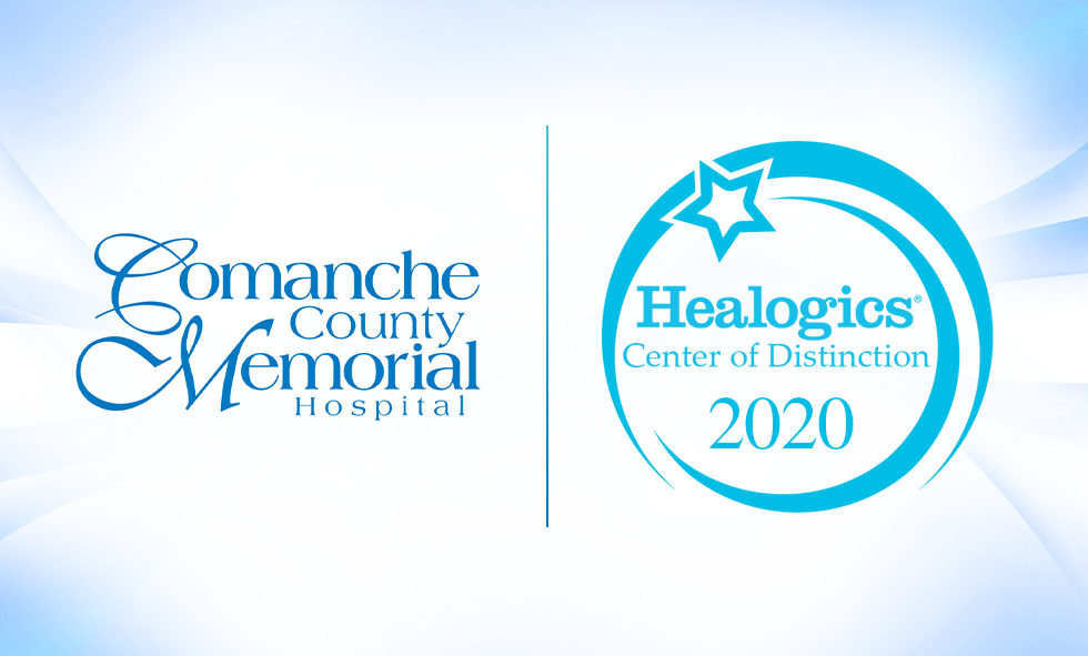 CCMH and Healogics Center of Distinction 2020 logos