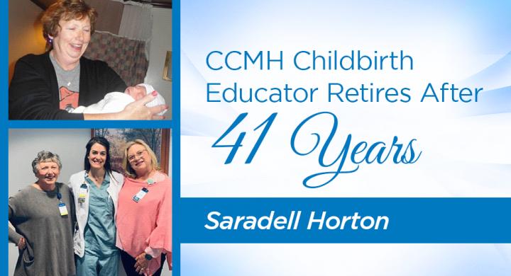 Saradell Horton and CCMH Staff