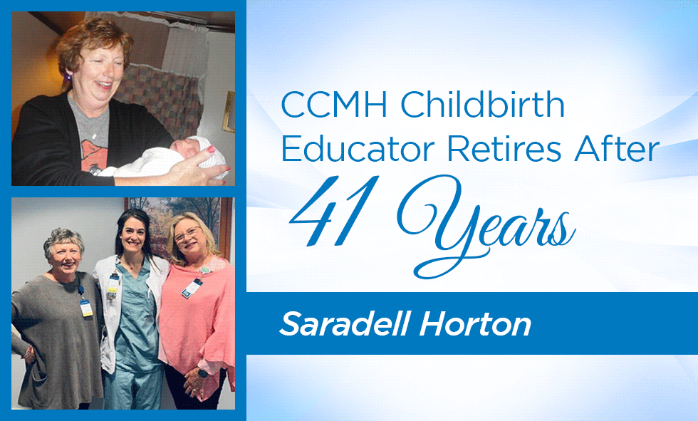 Saradell Horton and CCMH Staff