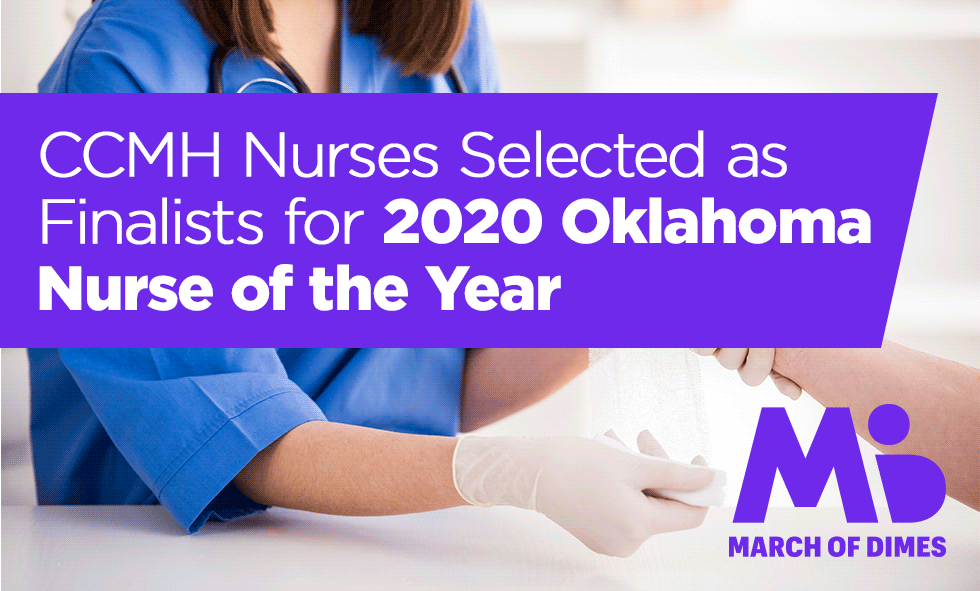 CCMH Nurses Selected as Finalists for 2020 Oklahoma Nurse of the Year