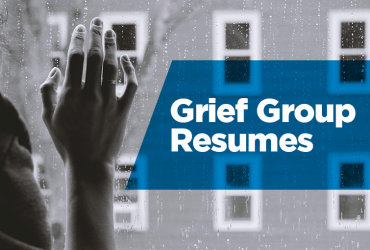 Grief Group Resumes