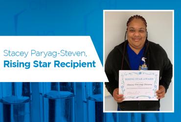 Stacey Paryag-Steven, Rising Star Recipient