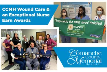 CCMH Wound Care & an Exceptional Nurse Earn Awards