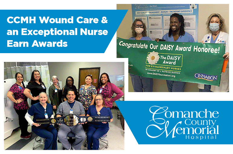CCMH Wound Care & an Exceptional Nurse Earn Awards