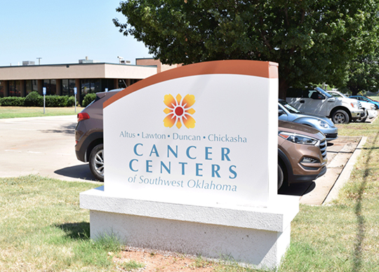 cancer centers sign