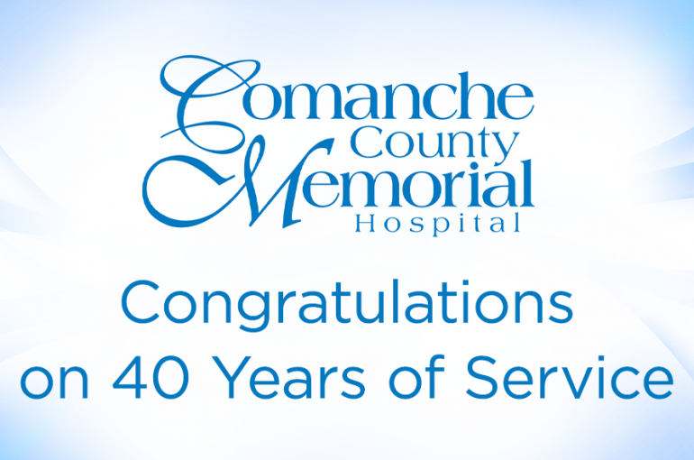 Congratulations for Forty Years of Service