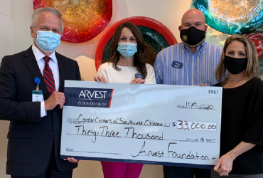 Cancer Center Receives Donation From Arvest Foundation