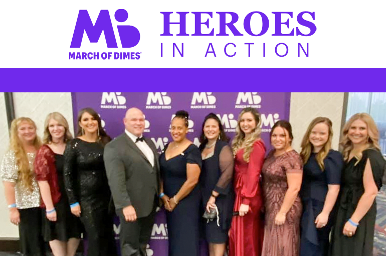 2021 March of Dimes Heroes in Action Finalists & Winners