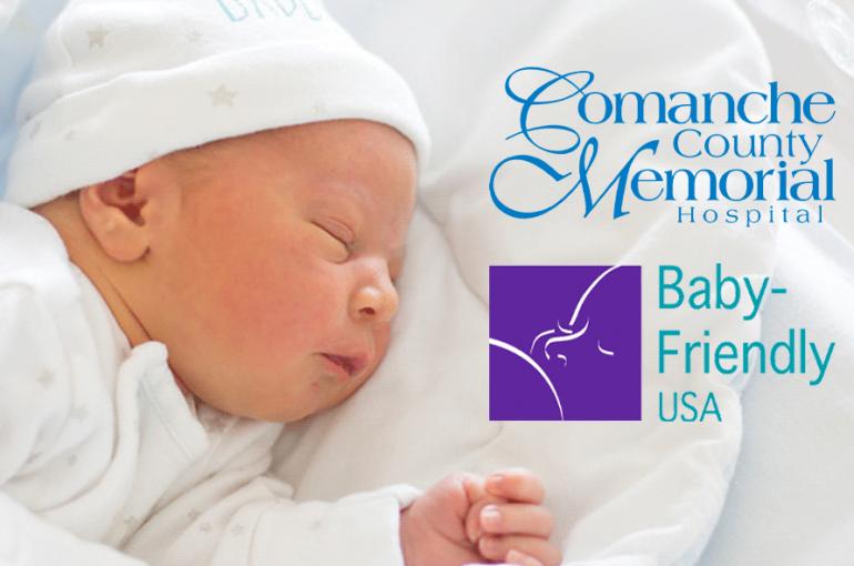 "Comanche County Memorial Hospital Re-Designated as a ""Baby-Friendly"" Hospital"