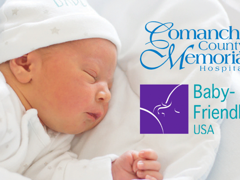 "Comanche County Memorial Hospital Re-Designated as a ""Baby-Friendly"" Hospital"